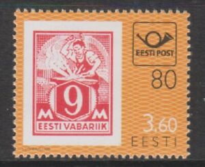 Estonia - 1998, Estonian Post Anniversary stamp - m/m - SG 323