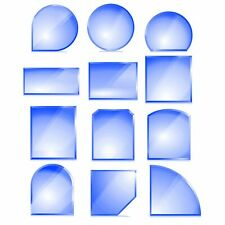 Kamin Glas Bodenplatte Funkenschutz Kaminplatte Glasplatte Ofen Platte Vorleg
