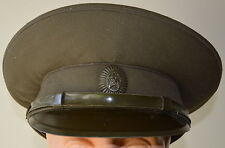 USSR Soviet Union Russia Military Army Battle Field Officer Visor Hat Peaked Cap
