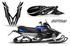Yamaha APEX Decal Wrap Graphic Sticker Kit Sled Snowmobile 2012-2016 NIGHTWOLF S