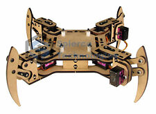 mePed v2 Quadruped Walking Arduino Robot - Base Kit
