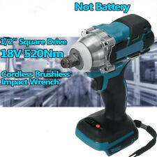 520Nm Cordless Brushless Impact Wrench 18V 1/2'' Fit For Makita Battery