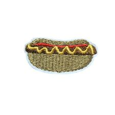 Hotdog Embroidered Iron On Patch - Food SP19-I