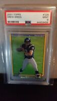BLITZ SALE - 2001 Drew Brees RC Topps PSA 9 Rookie - HALL OF FAME!