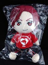 Free! Iwatobi Swim Club Mini Plush Doll official Bandai Rin Matsuoka