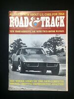 Road & Track October 1967, Corvette, Dodge Coronet