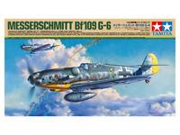 Tamiya 61117 1/48 Aircraft Model Kit WWII Luftwaffe Messerschmitt Bf109 G-6