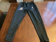 Nike Los Angeles Lakers Tear Away Game Pants Size Medium 932549-010 RARE