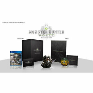 MONSTER HUNTER: WORLD COLLECTOR'S EDITION Sony Playstation PS4 Games NEW