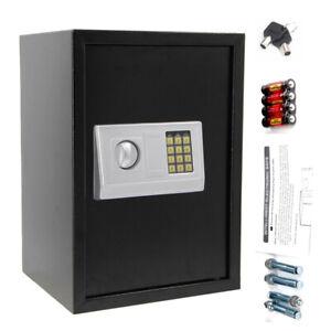 Elektronisch Möbeltresor 50x35x30cm XXL Tresor Dokumententresor Safe