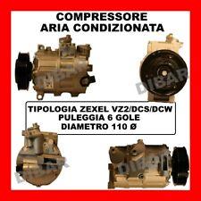 COMPRESSORE AC 13447 VW PASSAT 1.9 TDI DAL 2005 KW77 CV105 CC1896 BKC BLS BXE