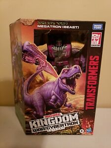 Transformers War for Cybertron Kingdom MEGATRON BEAST Leader Class IN STOCK!