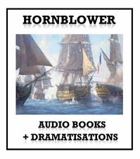 Hornblower Audio Books Complete Collection MP3 DVD + DRAMATISATIONS + FREE GIFT!