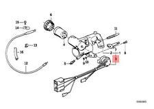 Genuine BMW E30 Cabrio Coupe Sedan Wagon Ignition Lock Switch OEM 61321374868
