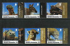 Guernsey 2009 Darwin's Discoveries-Attractive Animal Topical (1022-27) Mnh