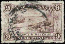 New Zealand  Scott #80 Used