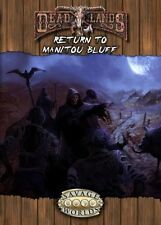 Savage Worlds Deadlands Reloaded: Return to Manitou Bluff $19.99 Value 10211