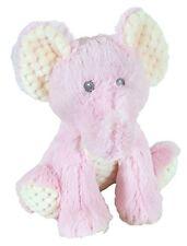 "Stephan Baby Super-Soft Plush Toy, Pink Elephant, 10"""