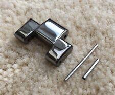 Enlace de cerámica plata/titanio se ajusta Emporio Armani AR1465 Correa de Repuesto/Pulsera