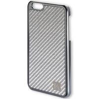Coque de protection Modena Clip pour iPhone 6s Plus carbone véritable gris
