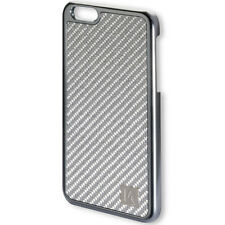 Coque de protection Modena Clip pour iPhone 6s Plus carbone véritable gris