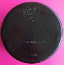 Vintage Antique Wagner Ware No 8 Round Roaster 1268, & Ozark Crescent Lid