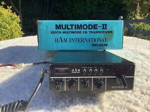 Ham International Multimode 11 CB radio 120 Channels. Mobile Or Base Station