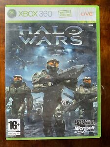 Halo Wars XBox 360 Video Game Classic First Person Shooter