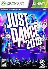 Just Dance 2018 RE-SEALED Microsoft Xbox 360 KINECT GAME 2K18 18