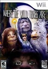 Where the Wild Things Are RE-SEALED Nintendo Wii & WII U GAME