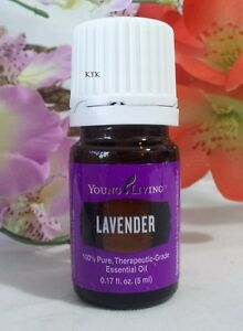 Young Living LAVENDER Essential Oil 5ml New Unopened SEALED Free shipping