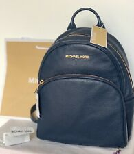 GENUINE Michael Kors  Bag Abbey Md Backpack Navy, Blue