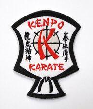 "Kenpo Karate Shield Patch 3.25"" x 4"" Iron On / Sew On New"