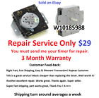W10185988 Dryer Timer Repair Service, Read all description before purchasing!!  photo