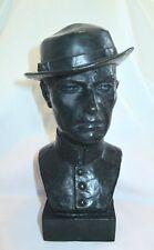 "Bronze Lost Wax Cast Sculpture Portrait Bust  ""Civil War Soldier""  Original"