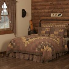 COUNTRY PRIMITIVE RUSTIC PRESCOTT PATCHWORK QUILT COLLECTION VHC BRANDS