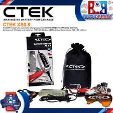 Ctek Xs0.8 New Model 6 Stage Trickle Battery Charger 12 Volt 12v Bike Car Boat