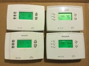 Lot of 4 Honeywell Programmable Thermostat 5-2 Day RTH2300B