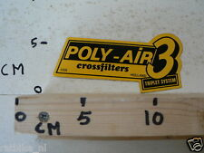 STICKER,DECAL POLY-AIR 3 TRIPLET SYSTEM CROSSFILTERS HOLLAND