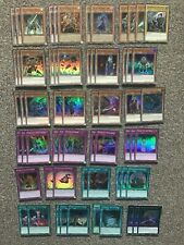 YUGIOH 59 CARD SIX SAMURAI DECK / SET / COLLECTION READY TO PLAY 3 EXTRA DECK!