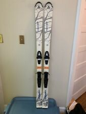 Fischer My Style 155 womens skis with Tyrolia SR100 bindings used