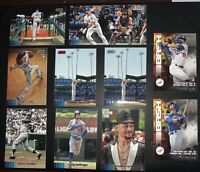 2020 Stadium Club Dodgers Lot (10) Lux RC Widevision + Base, May RC, Kershaw +