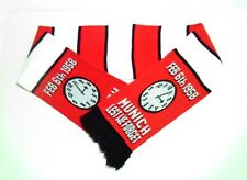 Manchester United Munich Remembrance Scarf Man Utd Football Scarves Memorabilia