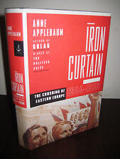 1st Edition IRON CURTAIN Anne Applebaum WAR History WWII Military RUSSIA