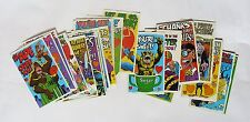 Monster insult postcards - TOPPS - Complete 32 cards set - USA - No Panini