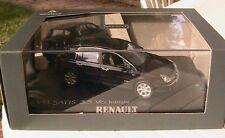 RENAULT VELSATIS 3.5 V6 INITIALE 2001 PHASE 1 NOIRE NACREE NOREV 518302 1/43