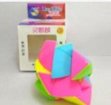 Rubik's YuXin Ling KiRin Mastermorphix Cube Pink Stickerless