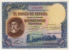 BILLETE ESPAÑA 1000 PESETAS 1935 PLANCHA PERFECTO
