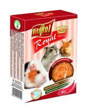 VITAPOL 10-er Set Flocken-Karotte für Hamster und Kaninchen 10 x 40g zvp-1012