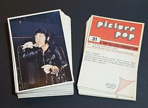 Top Sellers/Panini Picture Pop Stickers 1974 - Pick From Full List